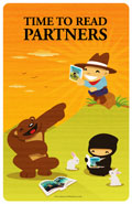 Time to Read Partner Poster
